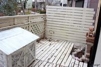 ウッドデッキ解体でお披露目♪旦那さんの【外水道DIY】&ジム通い始めました - neige+ 手作りのある暮らし