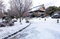 雪の京都2018智積院の雪景色 - 花景色-K.W.C. PhotoBlog