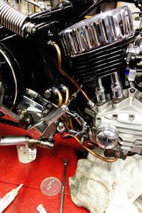 1958陸王RTⅡエンジン始動 - Vintage motorcycle study