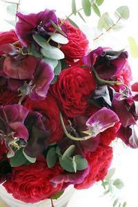 ふわっふわラナンキュラスでブーケ専科スタート - お花に囲まれて