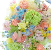 シャワーブーケ ルシェルブラン表参道さまへ  大役 - 一会 ウエディングの花