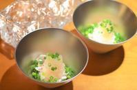 白子ポン酢/菜の花としらすの炒め物など - まほろば日記