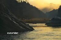 御岳渓谷の朝霧(その2) - ジージーライダーの自然彩彩