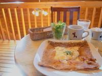 グラタンガレット:デザートハウス(弘前市) - 津軽ジェンヌのcafe日記