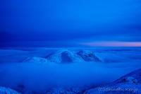 雪山 - 撃沈風景写真