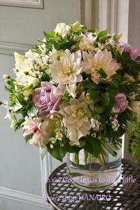 送別の花束♪お花と一緒に「感謝」を伝える。 - 花色~あなたの好きなお花屋さんになりたい~