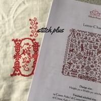[Letter Chaos] ① - 「Stitch +」 haruのクロスステッチ