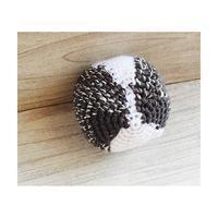 ダックスフンドブルーダブルダップルの編みぐるみ作成中その3 - ミトン☆愛犬 編みぐるみ Maronyのアトリエ