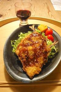 お惣菜の鯵フライ 〜ひとりごはん - 週末は晴れても、雨でも