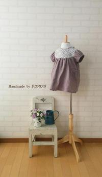 春ワンピ 80サイズ - 子ども服と大人服 KONO'N