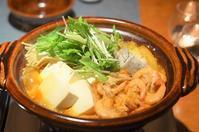 海鮮キムチ鍋 - まほろば日記