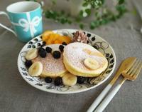 ふわふわパンケーキとふわふわの雪❄ - ◆◇Today's Mizukitchen◇◆