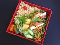 1/24炙り厚揚げチーズ弁当 - ひとりぼっちランチ