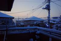 雪の記憶・・・一夜明けて冷え込む雪の朝 - 『私のデジタル写真眼』