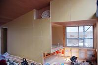 <11坪の平屋>内装工事 枠について - 建築事務所は日々考える