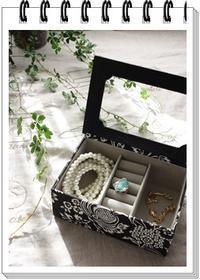petitサイズの宝石箱 - Bon Bon Blanc 日記   ・・・日常使いのカルトナージュを楽しく そして 美しく・・・