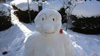 雪でアンパンマン - エリーズ ローズの部屋