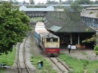 ヤンゴン中央駅というところ - イ課長ブログ