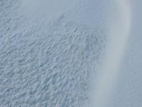 強烈な寒波と雪紋。 - 大朝=水のふる里から