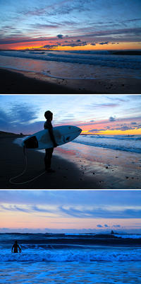 2018/01/24(WED) 波ある朝はサーファー達で賑わう。 - SURF RESEARCH
