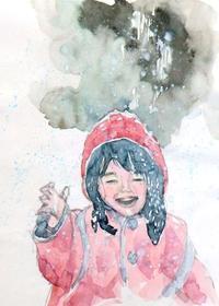 東京は雪子供は大喜び - ryuuの手習い