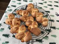 パセリ風味のチーズベーコンエピレッスン - カフェ気分なパン教室  ローズのマリ