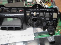 FT-817 電源ボタンのラバー交換 - 日々思う事...3rd