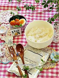 カレーライス弁当と今夜のおうちごはん♪ - ☆Happy time☆