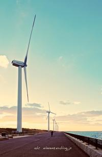 響灘風力発電 - A  B  C