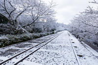 雪景色のインクライン - 花景色-K.W.C. PhotoBlog