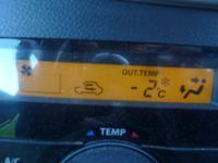 最低気温。 - 平野部屋