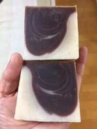 米ぬか&チョコレートの石鹸 - 小さなバラの庭と手作りせっけんのなちゅらるらいふ