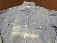 1月27日(土)入荷!60sPenny's BIGMACall cotton シャンブレーシャツ! - ショウザンビル mecca BLOG!!
