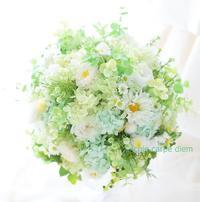 プリザーブドフラワーブーケ ベルクラシック東京様へ  取り柄とインフルの話 - 一会 ウエディングの花
