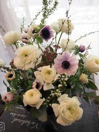 1月お花の会フラワーレッスンスタート - ルーシュの花仕事
