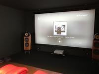 4Kシアターへ進化! 140インチスクリーンのある空間 ☆その1 - クリアーサウンドイマイ富山店blog