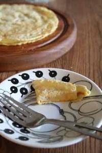 鉄鍋でイギリスパンケーキ - ハーブのある暮らし