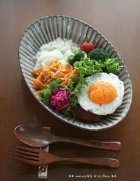 ロコモコ弁 ✿ 女子会(๑¯﹃¯๑)♪ - **  mana's Kitchen **