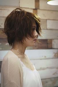 ショートカットにチャレンジ!! - 空便り 髪にやさしいヘアサロン 髪にやさしいヘアカラー くせ毛を愛せる唯一のサロン