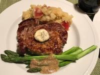 ブラインしたポークチョップ・ステーキ&ステーキの残りで肉うどん - やせっぽちソプラノのキッチン2