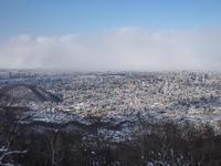 冬の藻岩山へ~後編 - 柳に雪折れなし!Ⅱ