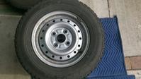 145R12 持込組換 BS W300 - GARAGE-Komatech 宮城県黒川郡 格安タイヤ組み換え、タイヤ交換