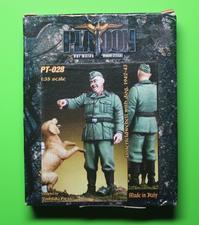 PLATOON PT-028 Unterfeldwebel with dog, 1942-43 - 押出鋲二郎日記
