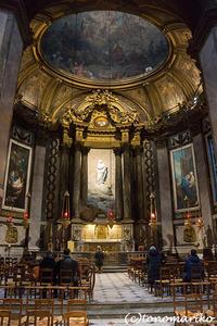 サンシュルピス教会 - パリときどきバブー  from Paris France
