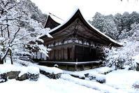湖東三山金剛輪寺・雪景色 - ちょっとそこまで