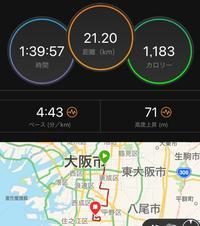 大阪ハーフマラソン100分切り達成! - My ブログ