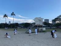 マジックアイランドビーチクリーンアップ - ハワイのフォトツアー、フォトウエディング
