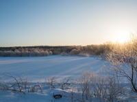 十勝の冬の幻想的な風景~さらべつの霧氷が見頃を迎えています~ - 十勝・中札内村「森の中の日記」~café&宿カンタベリー~