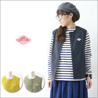DANTON [ダントン] W's NYLON STRETCH TAFFETA INSULATION VEST [JD-8879 SET] インナーベスト LADY'S - refalt blog