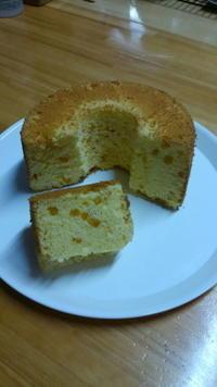 柚子のシフォンケーキと柚子の寒天 - Baking Daily@TM5